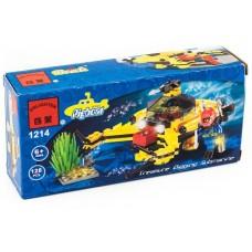 Конструктор Глубоководный аппарат Brick 1214 аналог Lego