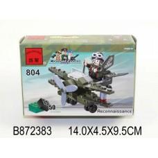 Конструктор Самолет-разведчик Brick 804 аналог Lego