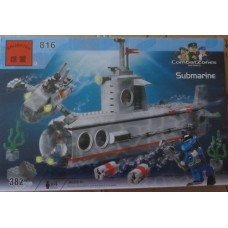 Конструктор Подводная лодка Brick 816 аналог Lego