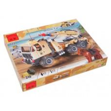 Конструктор Ракетный автомобиль Brick 822