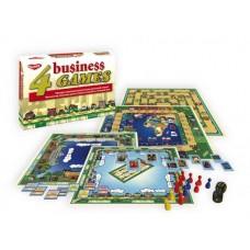 Детская настольная игра 4 экономические игры Gamer 1165Н