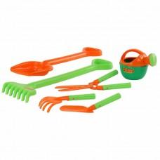Набор №606: лопата большая, грабли большие, совок №29, грабельки №25, секатор, лейка малая №4 Полесье 63229
