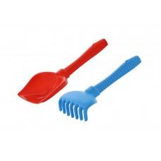 Набор №178: лопата №6, грабли №6 Полесье 7109