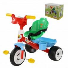 """Детский велосипед трехколесный """"Беби Трайк"""" со звуковым сигналом и ремешком (в коробке) Полесье 66213"""