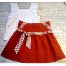 Комплект для девочки младшей школьной группы Юнона М6629