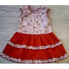 Платье для девочки дошкольной группы Юнона М6627
