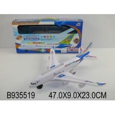 """Игрушка пластмассовая Самолет """"Счастливое путешествие"""" Huada Toy Co 935519-A330-130K"""