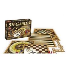 """Детская настольная игра """"50 видов игр для всей семьи"""" Dream Makers 1161H"""