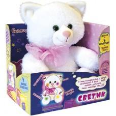 Мягкая интерактивная игрушка Котик-светик DREAM MAKERS KFR01\M