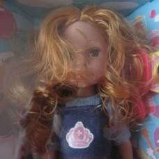 Кукла Nico-le 34 см. с рыжими короткими волосами 12778