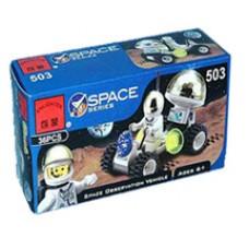 Конструктор Брик Космическая серия Космическое транспортное средство наблюдения Space Series Space Observation Vehicle BRICK 503