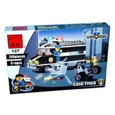 Конструктор Брик Полицейская серия Police Series Cash Truck BRICK С127А
