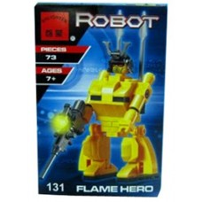 Конструктор Брик Робот трансформер Transforming Robot Flame Hero BRICK 131