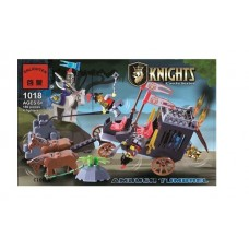 Конструктор Брик серия Рыцари Knights Castle Series Ambush Tumbrel BRICK 1018