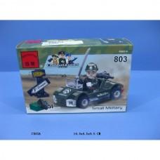 Конструктор Брик Серия Зона боевых действий Военная машина Combat Zones Series Small Military BRICK 803
