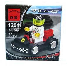 Конструктор Брик Спортивный автомобиль Series Kart BRICK 1204