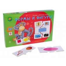 Настольная развивающая игра Ассоциации-цепочкой. Формы и фигуры Рыжий кот ИН-8806
