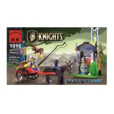 Конструктор Рыцарский замок Караул Brick 1016 аналог Lego
