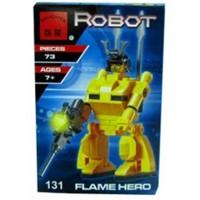 Конструктор Робот трансформер Герой пламени Brick 131