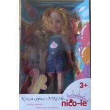 Кукла Nico-le 34 см. с рыжими волосами 12778