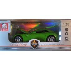 Игрушка металлическая автомобиль 1:35 Спорткар Panawealth EY80034R-00648686