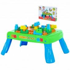 Игровой набор с конструктором (20 элементов) в коробке (зелёный) Полесье 57983