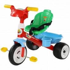 """Детский велосипед трехколесный """"Беби Трайк"""" со звуковым сигналом и ремешком Полесье 46734"""