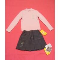 Комплект для девочки (юбка, джемпер) Юнона М6506