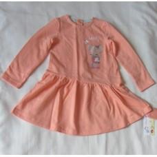 Платье для девочки персик М8236